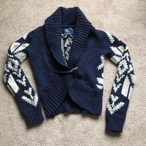 American Eagle Snowflake Sweater